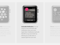 Two Dribbble Invites. Apple Watch Event Tribute
