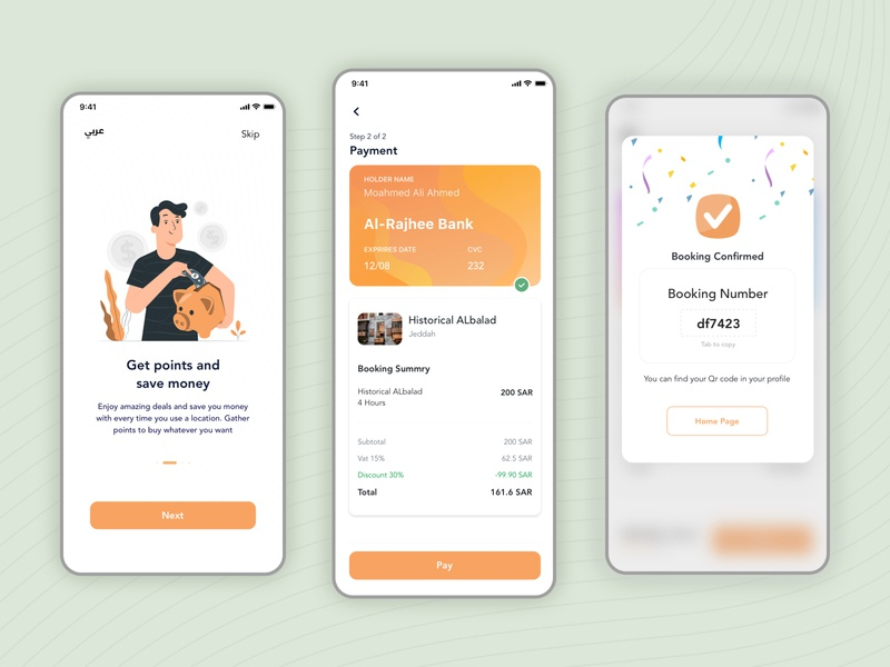 Location Booking App payment confirmation minimal flat app design mobile onboarding ios ux booking vector ui illustration dribbble best shot