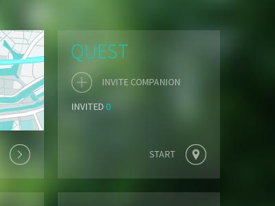 "Questure ""Quest"" quest adventure nature city questure web design app design"