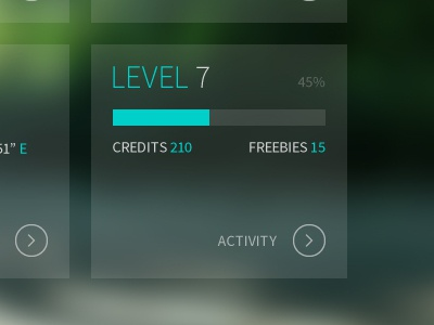 "Questure ""Level"" quest app design web level nature activity adventure"