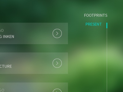 """Questure """"Path"""" nature quest path app adventure design web"""