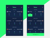 vBetter - Virtual Betting App