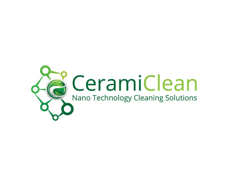 Ceramic Clean Logo (Green Color)