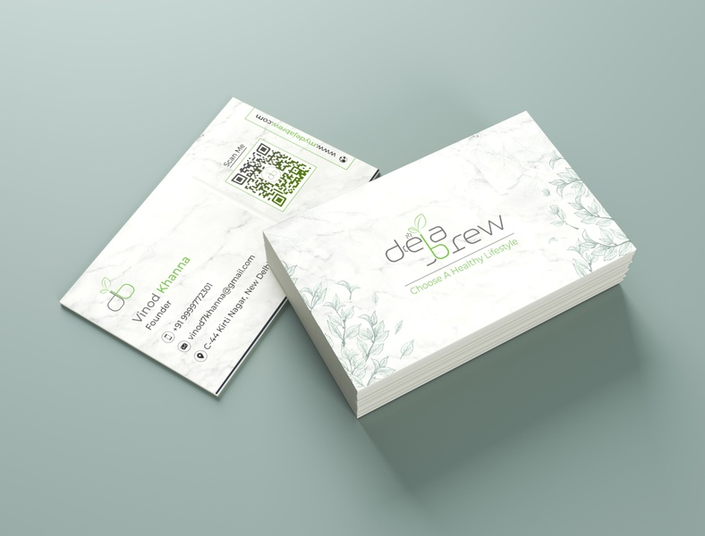 DejaBrew Business Card