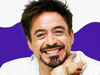 Robert John Downey Jr. Portrait