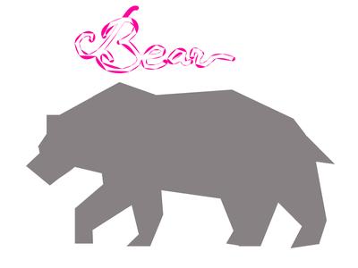 Bear Sign Logo Design Trend