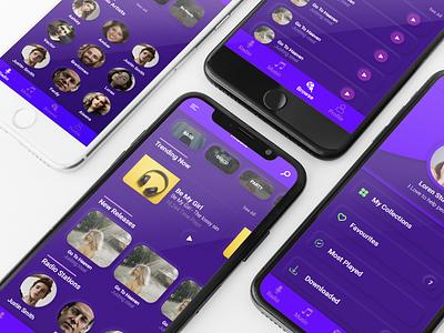 Neumorphism Live Radio & Music App ui ux designer ui ux design android app ui ui  ux uidesign ios app design ui design mobile ui mobile app design android app design ux uiuxdesign uiux uidesigns ui design