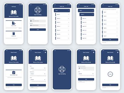 App Sampling Design webdesign uidesign mobile ui android app design ui design uiux mobile app design design uidesigns uiuxdesign