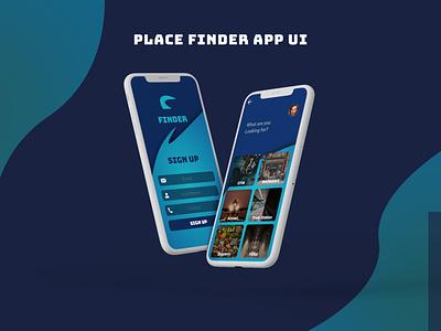 Finder App UI android app design app ux uiuxdesign ui uiux uidesigns mobile ui mobile app design design
