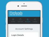 Web App Mobile Nav