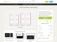 Pixeden productpage