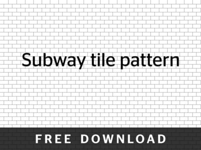 Subway Tile Pattern subway tile patternchris breitigan - dribbble