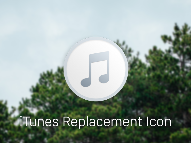 Itunes Replacement Icon free download download free osx mac dock icon replacement icon itunes