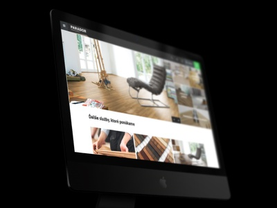 Parador - Ecommerce solution interior floor laminate internetovy obchod eshop ui ux design website e-commerce