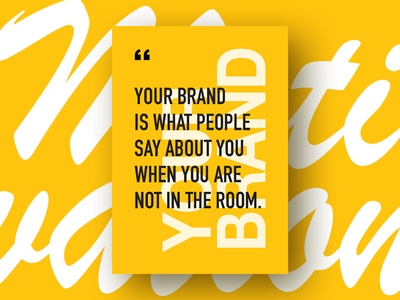 Motivation Poster - Your Brand