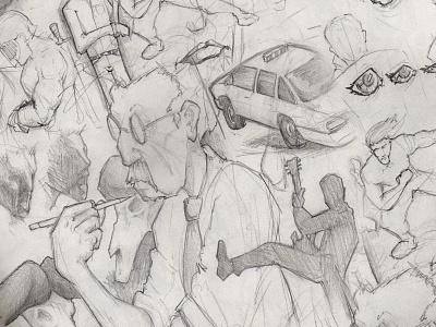 Doodling doodle sketch