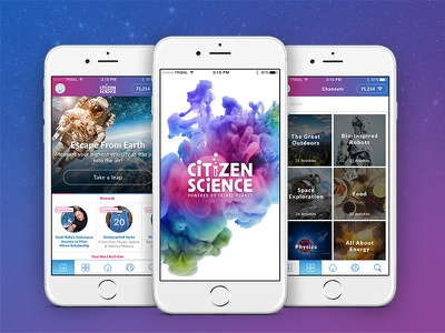 Citizen Science mobile android education space science ios app