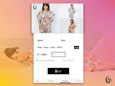James Fox Co. - Shopping Cart daily ui gown form maternity web credit card