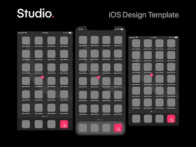 InVision Studio - iOS Template
