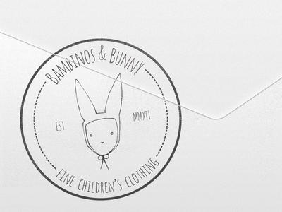 Bambinos & Bunny Stamp