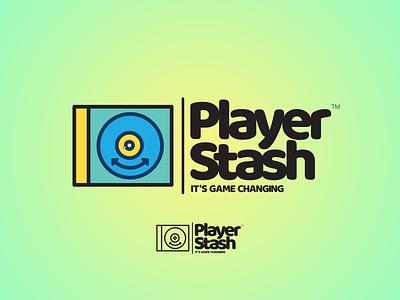 Player Stash prduction vector illustration design logo