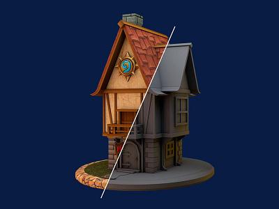 Tavern Tales  4d cinema hearthstone tales tavern logo 3d