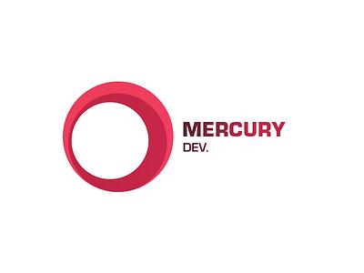 mercury dev. ui branding design vector illustration agency prduction logo developer development mercury