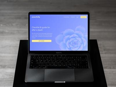 Peacefully Webapp
