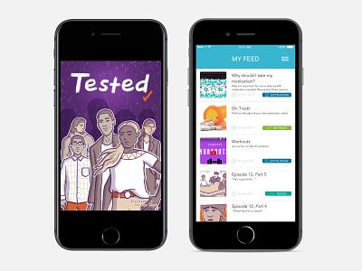 YGetIt App mobile design android app design ios sexual health ui desgin healthcare app design healthcare