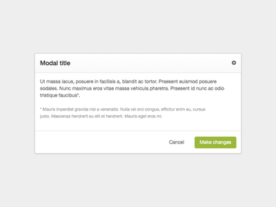 Modal Box mynewsdesk modal box modal ui style guide