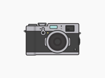 Fujifilm X100t fuji illustration camera x100t fujifilm