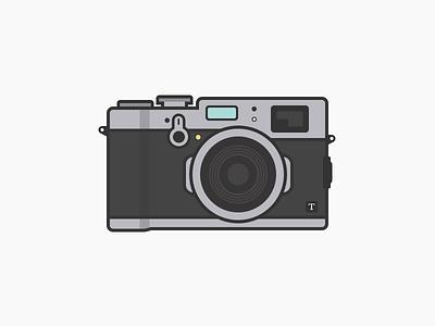 Fujifilm X100t fuji illustration camera x100t fujifilm