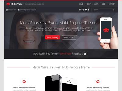 Mediaphase wordpress theme