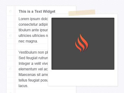 Widgets widget wordpress theme