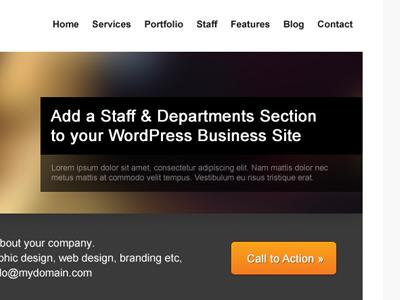 FT Theme wordpress business theme