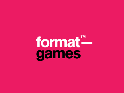 Formatgames retro video games logo