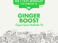 Better Booch Ginger Boost