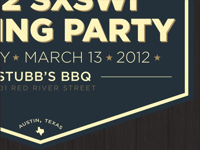 (mt) SXSWi Closing Party logo typography