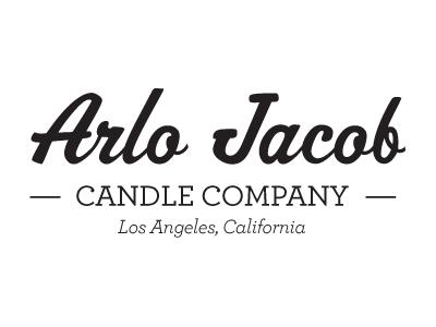 Arlo Jacob Candle Company logo arlojacob logo