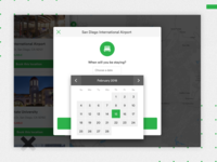 Booking Process - Date picker