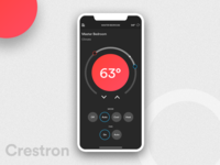 Crestron Home Automation System - Climate Control