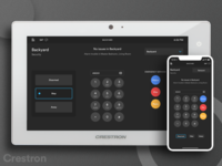Crestron Home Automation System - Security