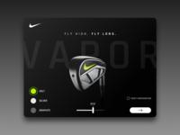 Nike Golf Club Customizer
