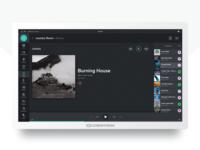 Crestron Sonos UI