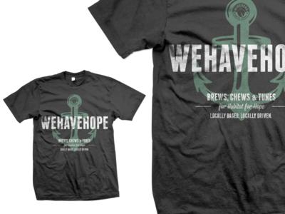 Benefit Shirt - Habitat For Hope, Memphis, TN