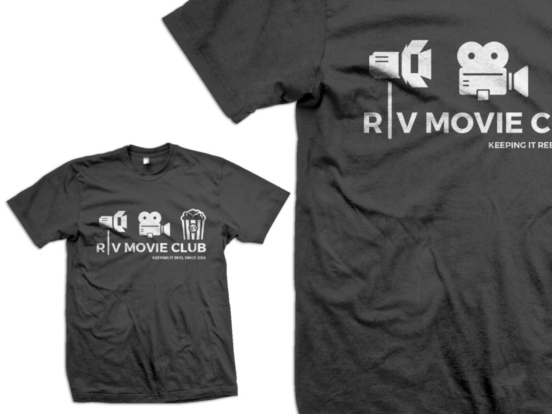 RV Movie Club Shirt shirt design apparel