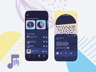 Daily Ui #009 - Music player songs musicplayer music app music ui dailyui design