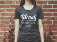 Hand-lettered shirt