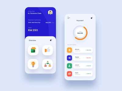 Payment and Banking App Design Concept