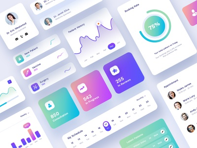 Dashboard Interface UI  Kit graph graphic design web page ui element ui kits ui kit element kit design interface ux analytical dashboard ui design clean uikreative user experience design website